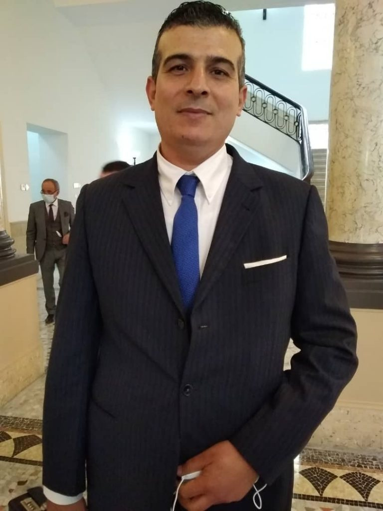 Guerinik Hadj Abdelkader, sénateur de Naâma
